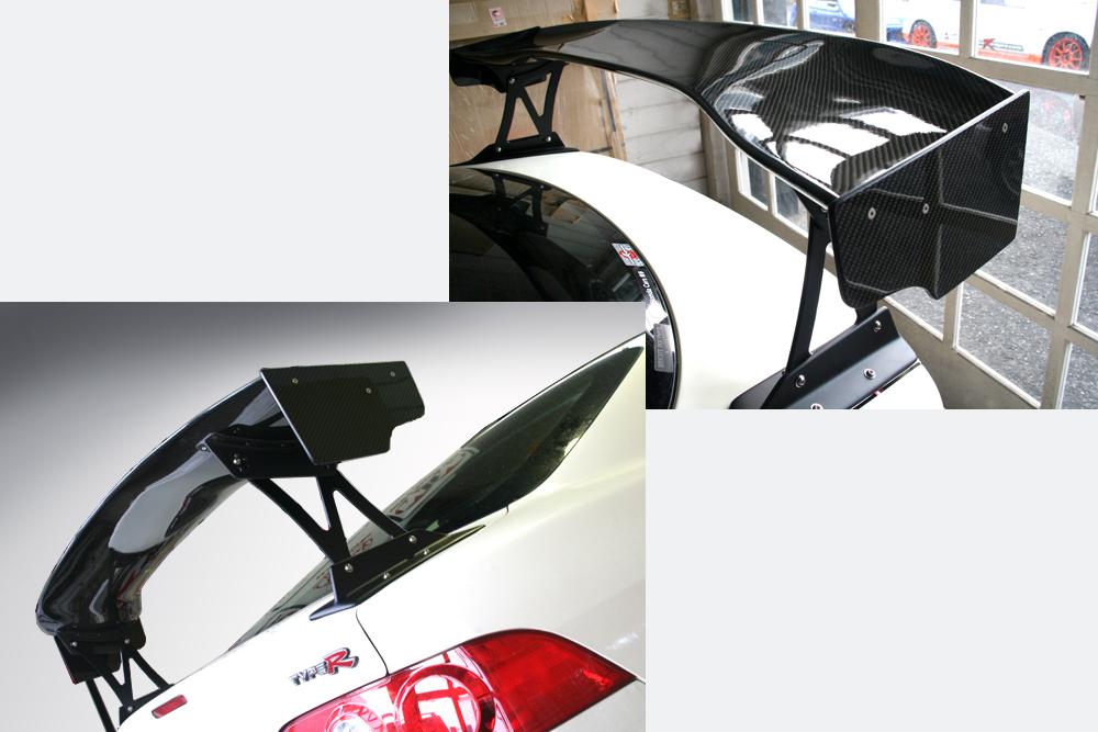 インテグラ DC5 3D GTウイング カーボン タイプ01B