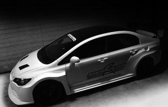 <新製品>CIVIC FD2 Type R ハイパーワイドボディKIT近日発売です。