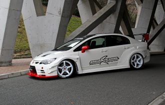 <USED CAR 販売>M&M Honda CIVIC FD2 TypeR Demo Car 販売です。