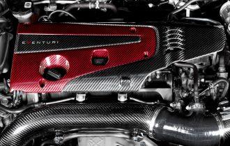 <近日発売>CIVIC FK8 レッドカーボンエンジンカバー予約受付中です。